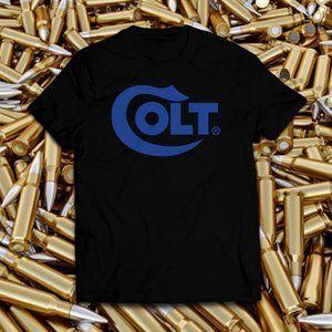 Colt Black Range Logo Tee